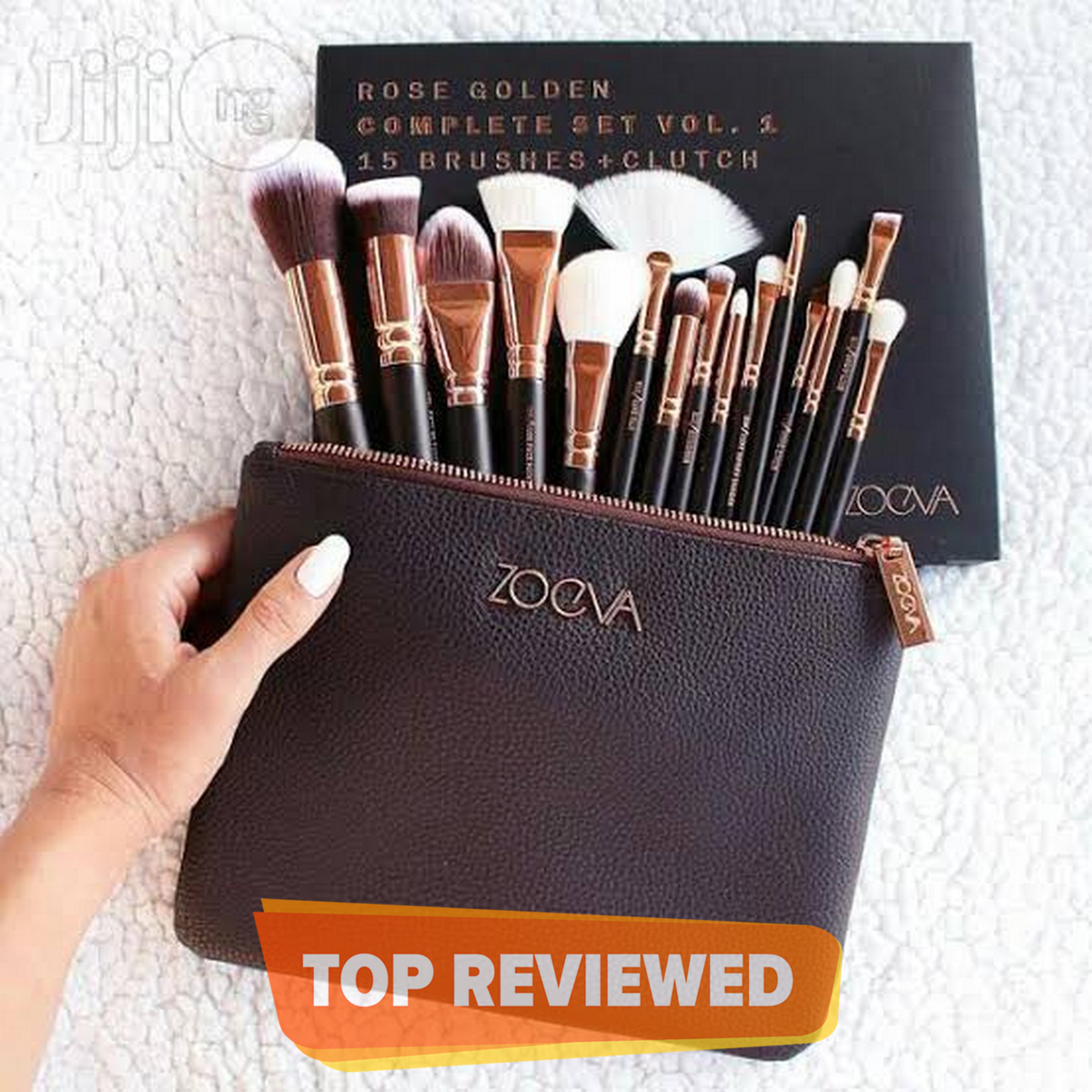 Zoeva 15 Pieces Makeup Brushes With Pouch
