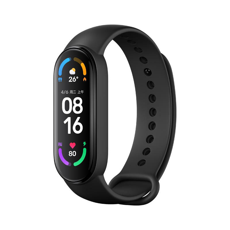 Xiaomi Mi Band 6 1.56'' Screen Display Smart Bracelet Blood Oxygen Fitness Tracker Heart Rate Monitor Bluetooth Smart Band Global Version