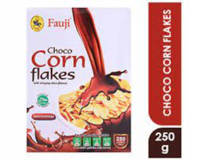fauji choco corn flakes original chocoflakes chocoflake flake breakfast cereals break fast faujicereals cereal cerels cerel foji fuji fouji best brand brands branded pack packed food foods product products healthy for man men woman women kids girls boys j