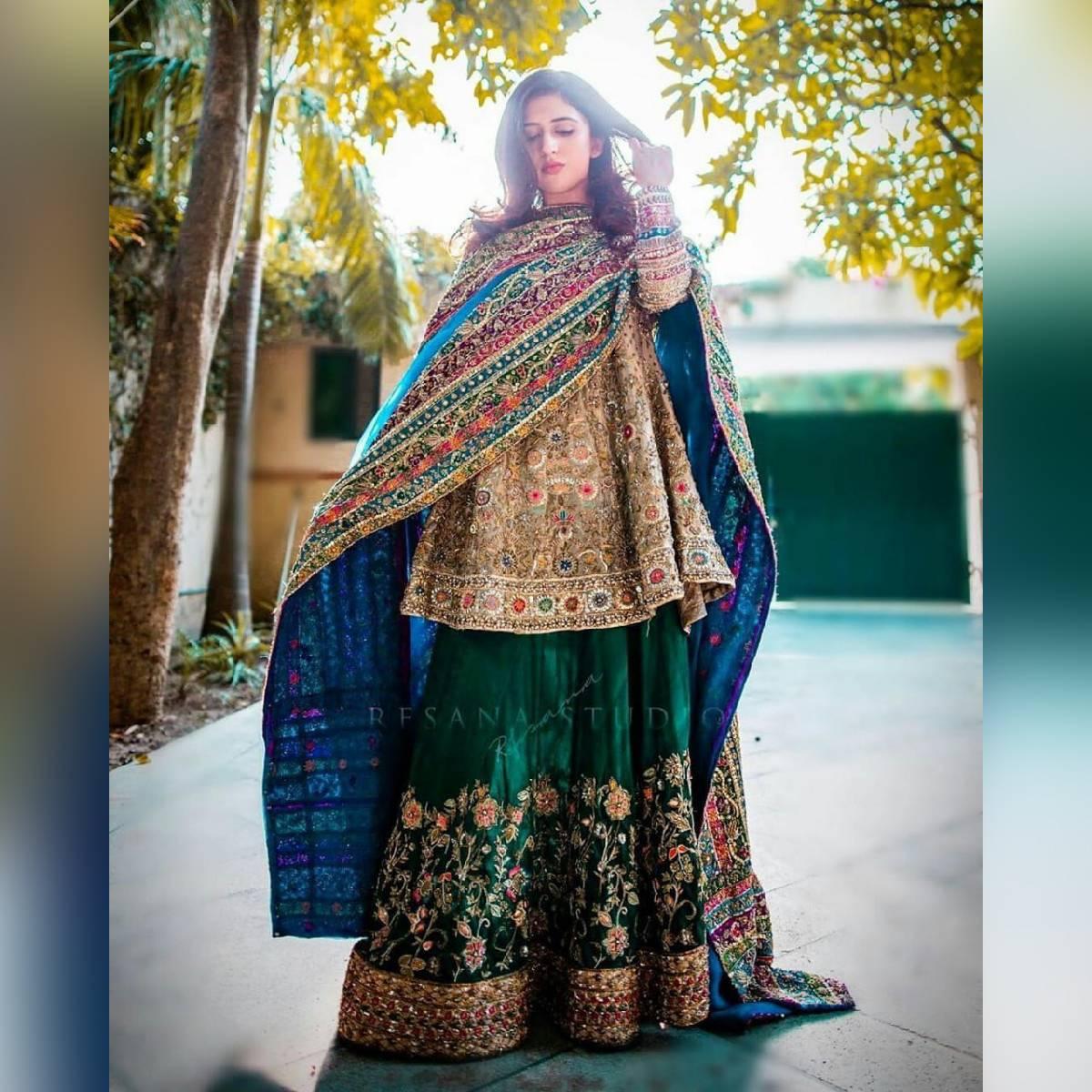 Partywear cloth suit unstitched Fashion designer dress
