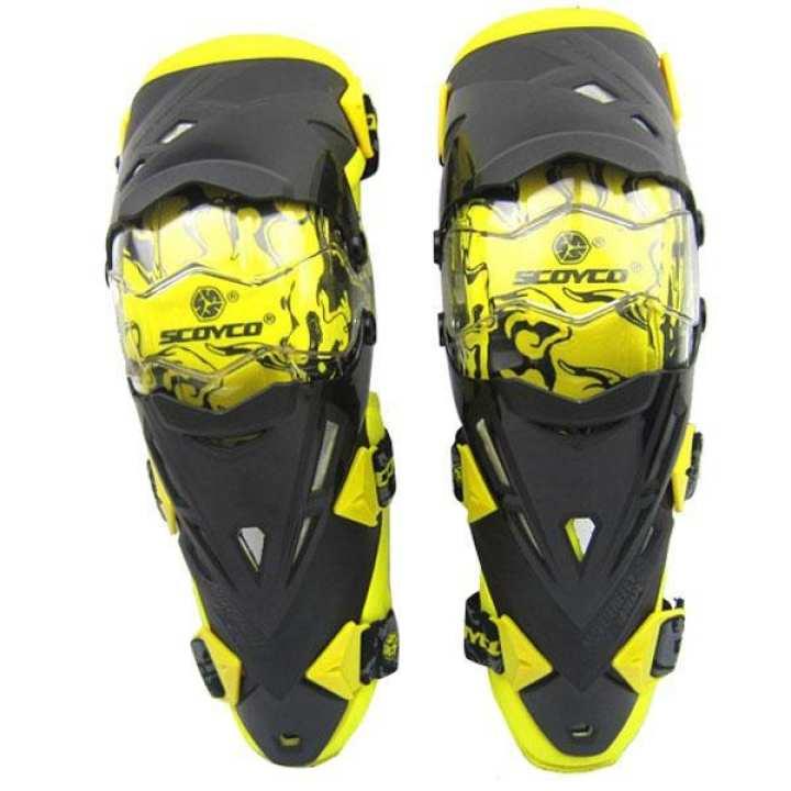 Motor Motorcycle Race Knee Elbow Protector Gear for Scoyco K12