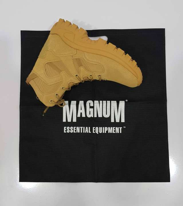 Magnum  Shoes for men Tactical Boots-Army Style Shoes - Brown