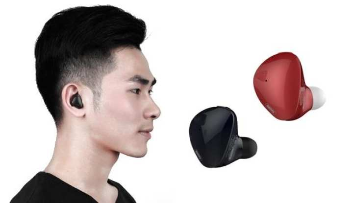 Remax Bluetooth - Remax RB-T21 Bluetooth Handsfree - Remax T21 Mini Wireless Hand free Bluetooth 4.2 Remax Handsfree with Mic for iPhone Samsung - Colour Black