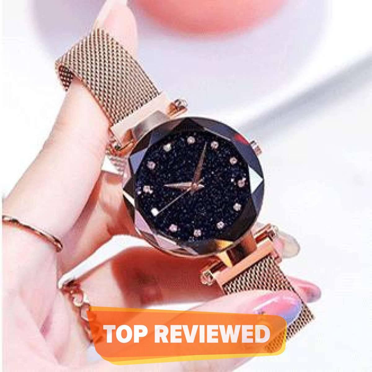 WaterProof luxury ladies magnetic watch For Girls