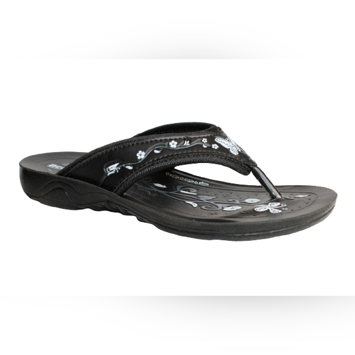 Aerosoft Synthetic Leather Slippers For Women S3909