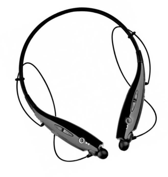 [LONG LASTING BATTERY] High Quality Neckband HD Woofer Anti-Lost Wireless Bluetooth Connectivity HBS-730 HandsFree