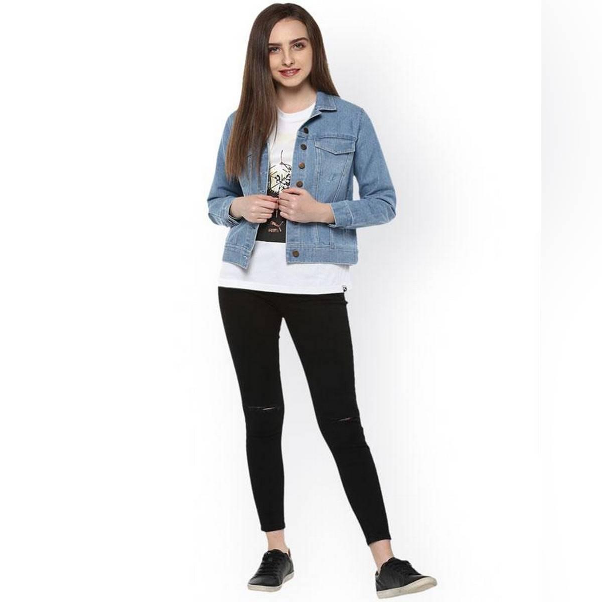 Women's Jackets Ladies Blue