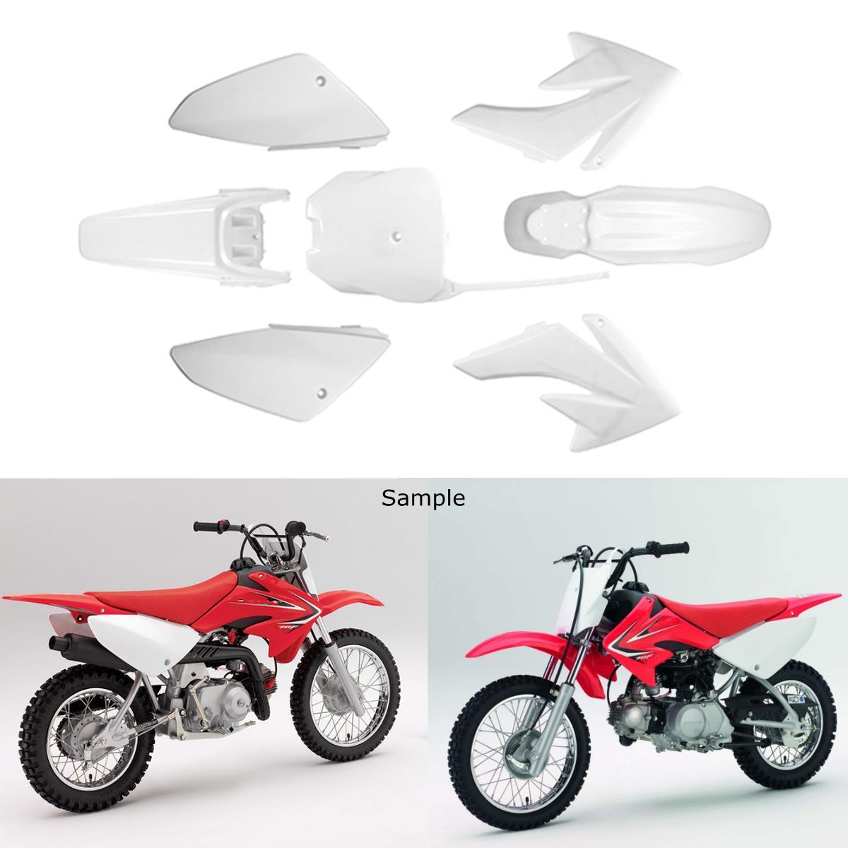Motorcycle Motorbike Rear  Tail Mud Guard for CRF70 Black