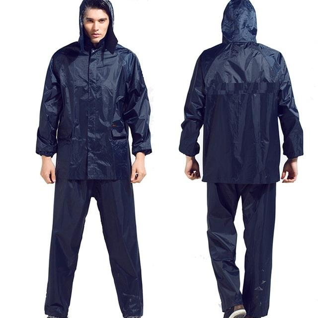 Lite Waterproof Rain Suit / Rain Coat / Outdoor Activities / Rain Wear / Bike Suit / Jacket Pant
