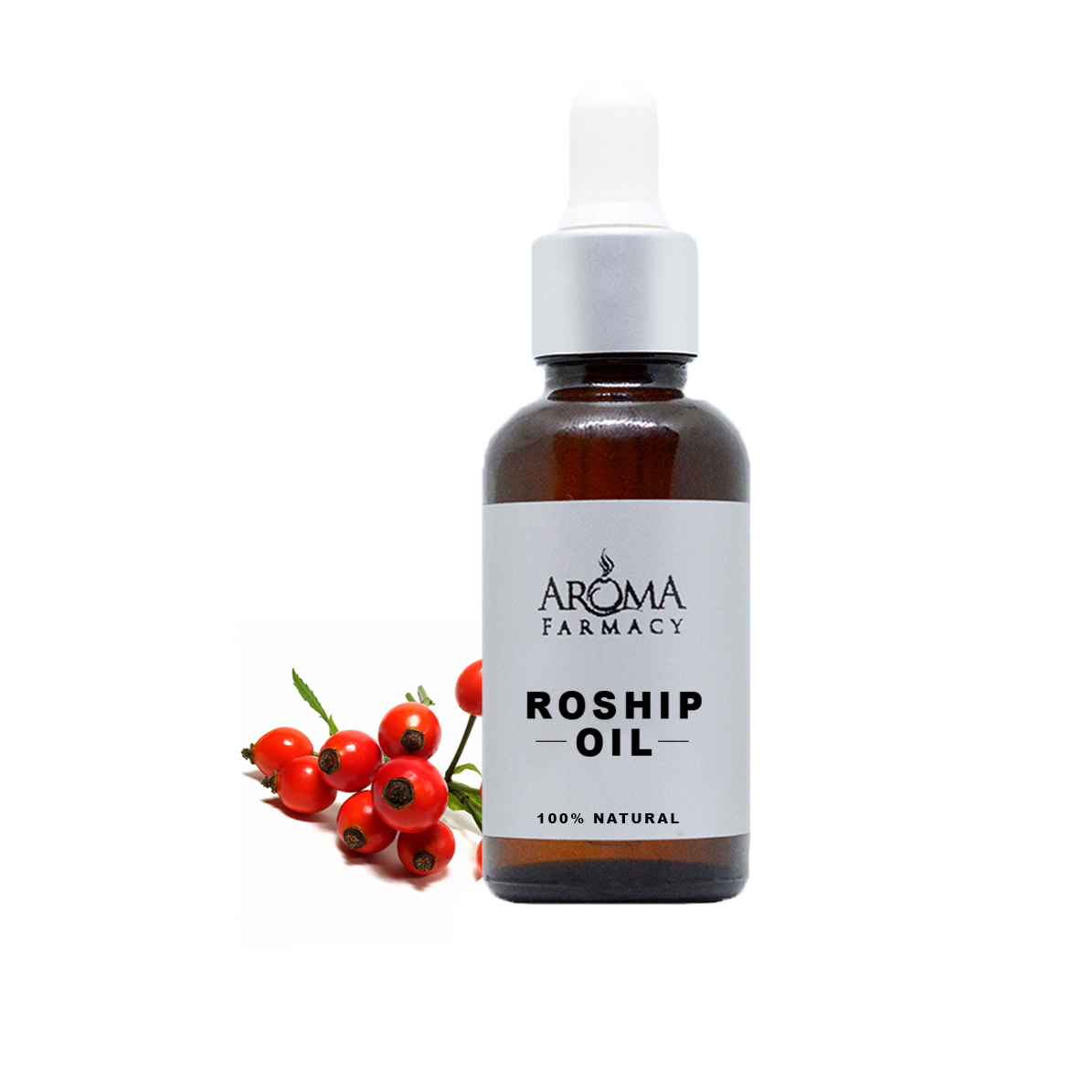 Organic Rosehip Oil 100% Pure & Natural - Cold Pressed (Undiluted)