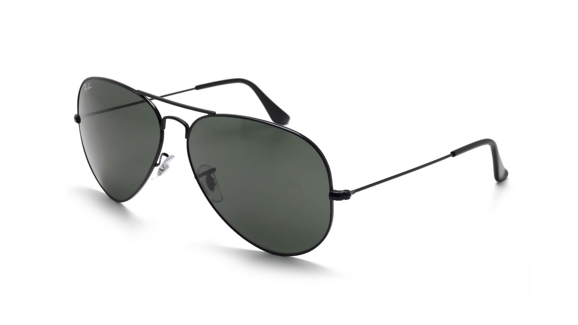 a8891ebcab6 Sunglasses Ray-Ban Aviator Large Metal Black G-15 RB 3026 L2821 62.14 140