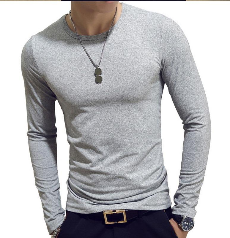 Sleeves Black Maroon Gray T Shirts for Men 2.jpg