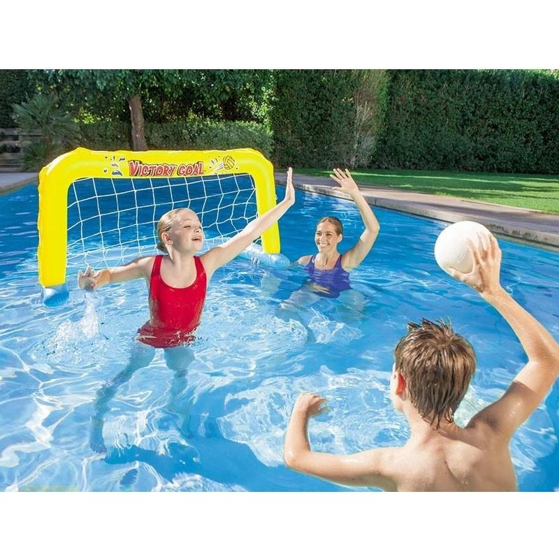 Bestway Inflatable Water Polo Goal Game In Swimming Pool