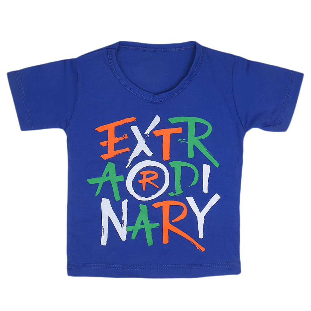 Boys Half Sleeves Printed T Shirt