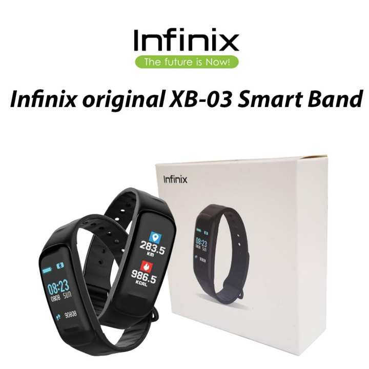Original Infinix Smart Band XBand 3/ XB 03/ XB03 Smart Fitness Tracker, Blood Pressure/ Heart Rate Monitor
