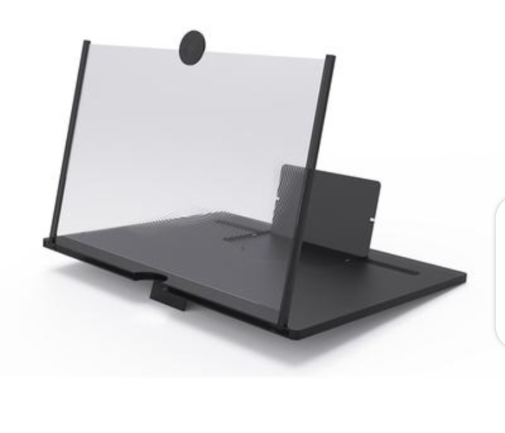 Mobile Phone Screen Amplifier 3D Video Screen Amplifier Magnifying Glass Stand Foldable Magnifying Stand