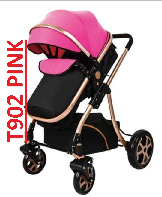 Foldable Imported Baby Stroller Pram for New Born Baby with Luggage Bags and Space
