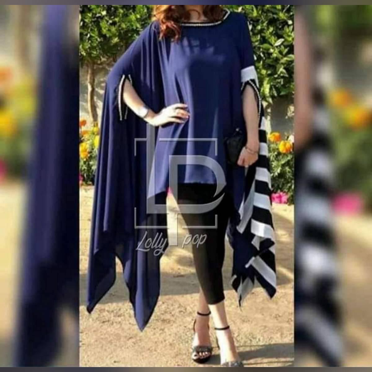 Febric linen kurti for woman Chest 20 Length 35