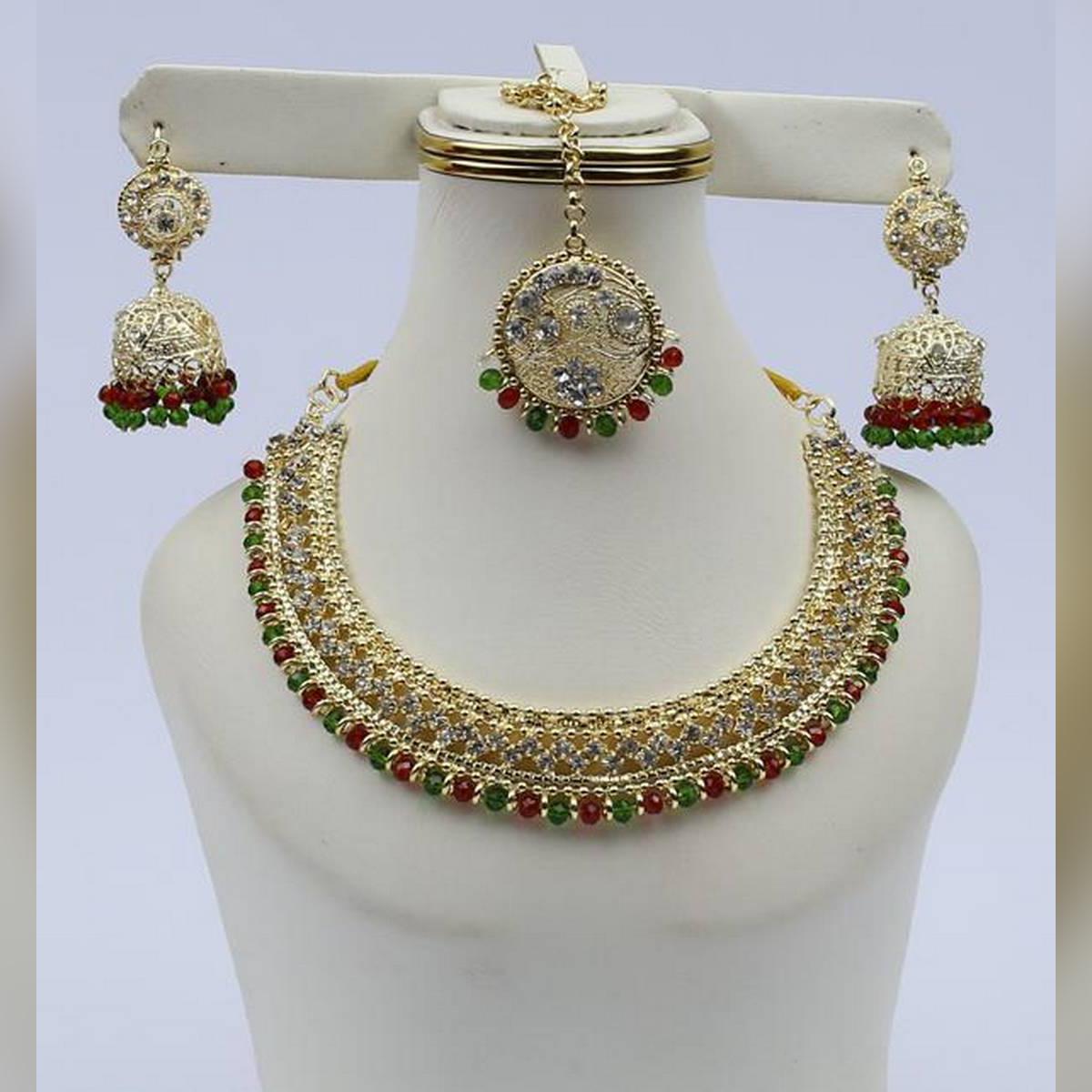 Sensational Bridal Designer Fashionable Jewellery Set For Women