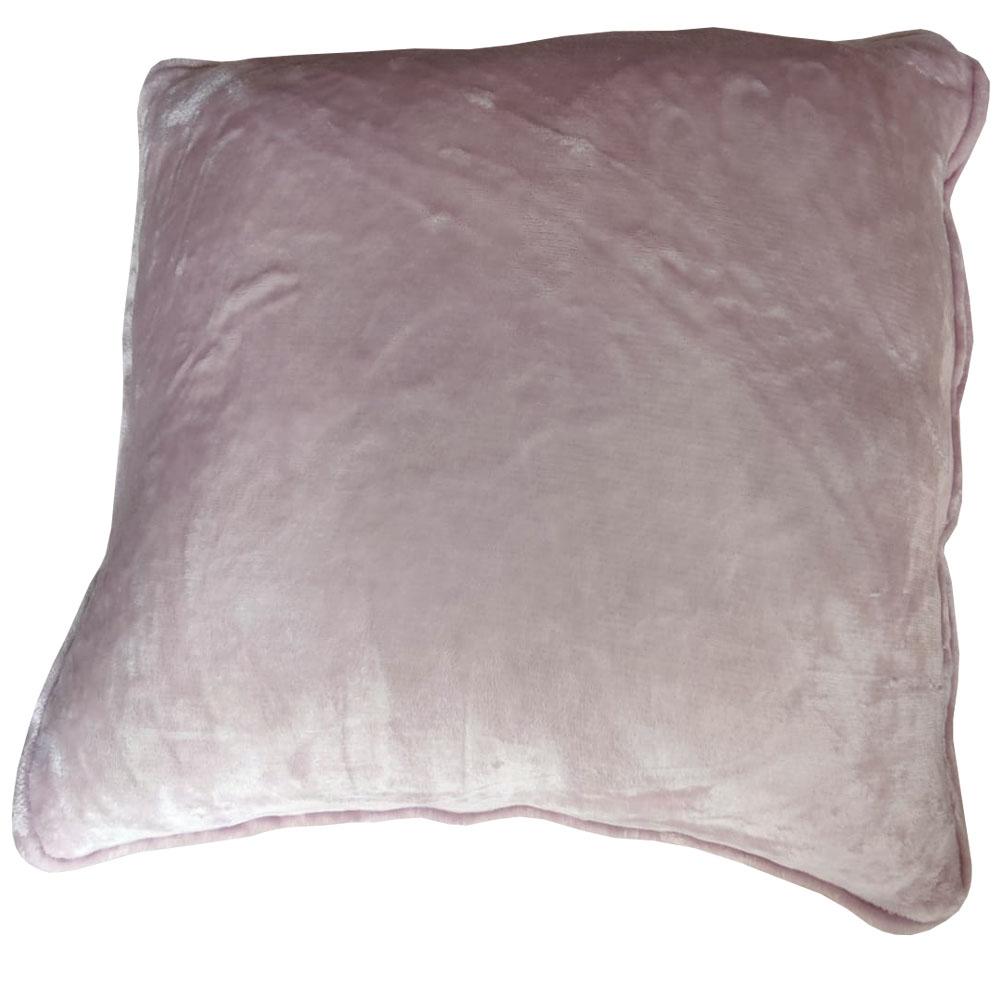 Mink Plush Square Cushions, Home Decor Cushions, Plush Cushions, Decorative Cushions