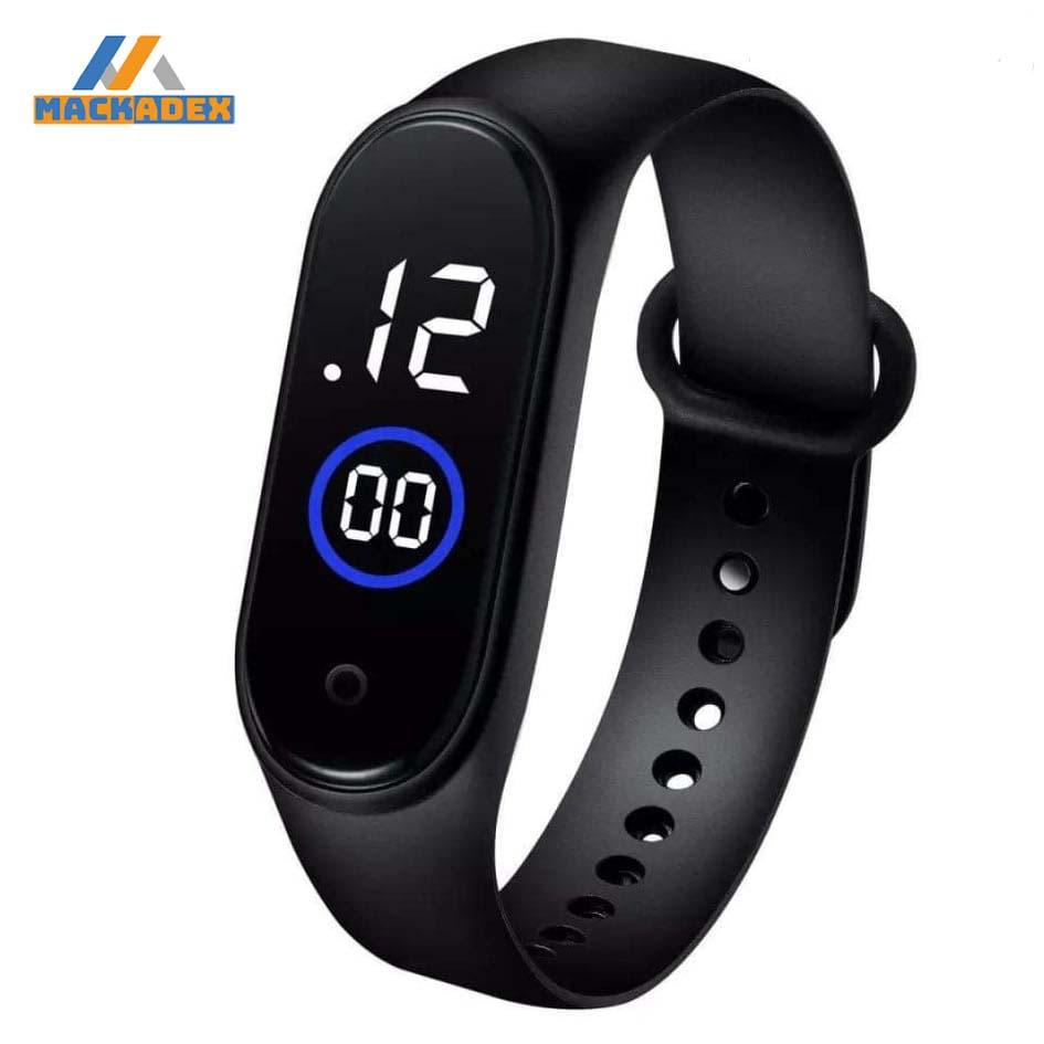 Trendy Touch screen LED Sports band, Stylish M3 Sports band For Unisex, Latest Touch screen LED band watch