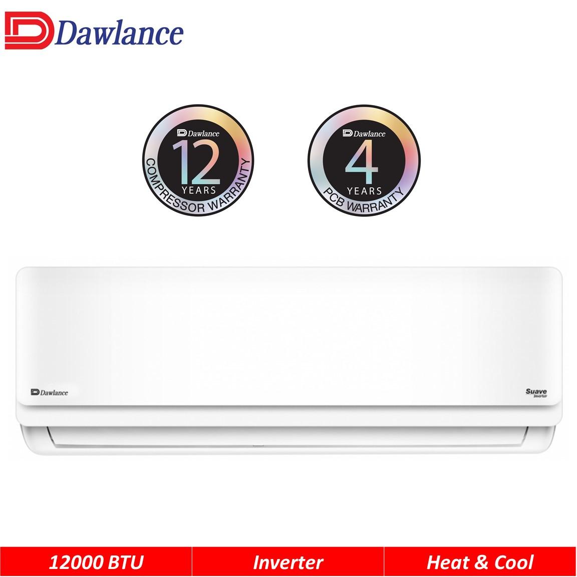 Dawlance 1.0 Ton Inverter Heat & Cool Air Conditioner Suave 15