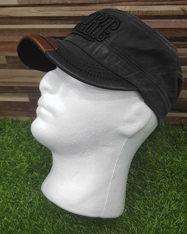 365bb2bd9a4ff7 RARE Letter Print Trucker Cap Men Women High Quality Flat Bill Hip Hop Hat