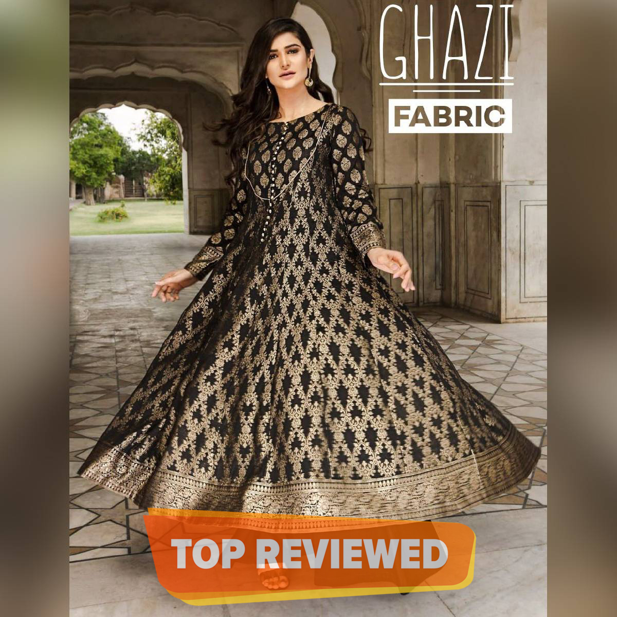 New design flare frock ready to wear  linen stitched collection partyware  flare frock  new linen collection New  funky& trendy collection