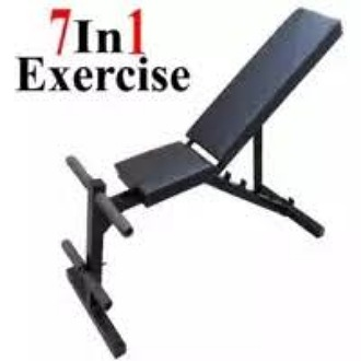 BEST Quality 90 Degree Multi Exercise Adjustable Chest Bench Press Incline Decline Straight Flat Thigh Leg Shoulder Bench Press Chest Belly Exercise Bench Press Weight Lifting Bench Press Body Building Bench Press Dumbbells Chest Workout (AMBALA FITNESS)