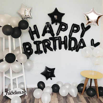 {Best Selling} 13 Pcs Happy Birthday BalloonsBanner Balloons for Birthday Party Decorations and Supplies -Golden