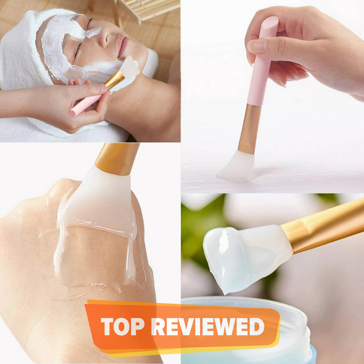 Silicone Brush For Applying Facial Masks