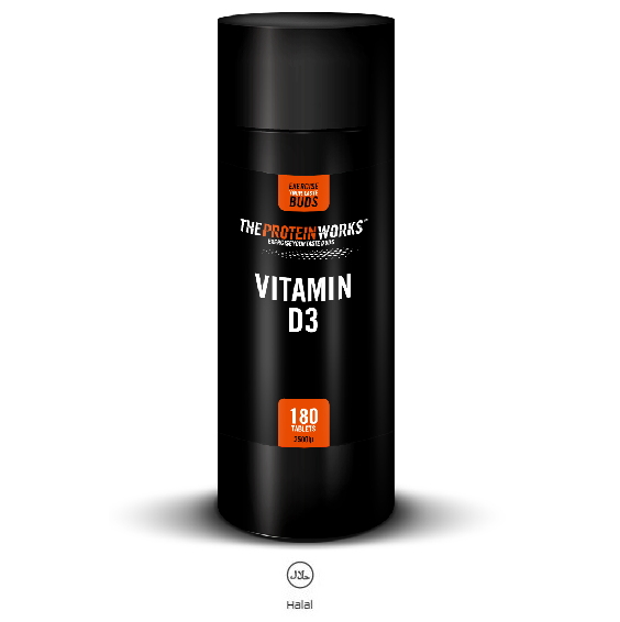 The Protein Works Vitamin-D3- 180 Tabs
