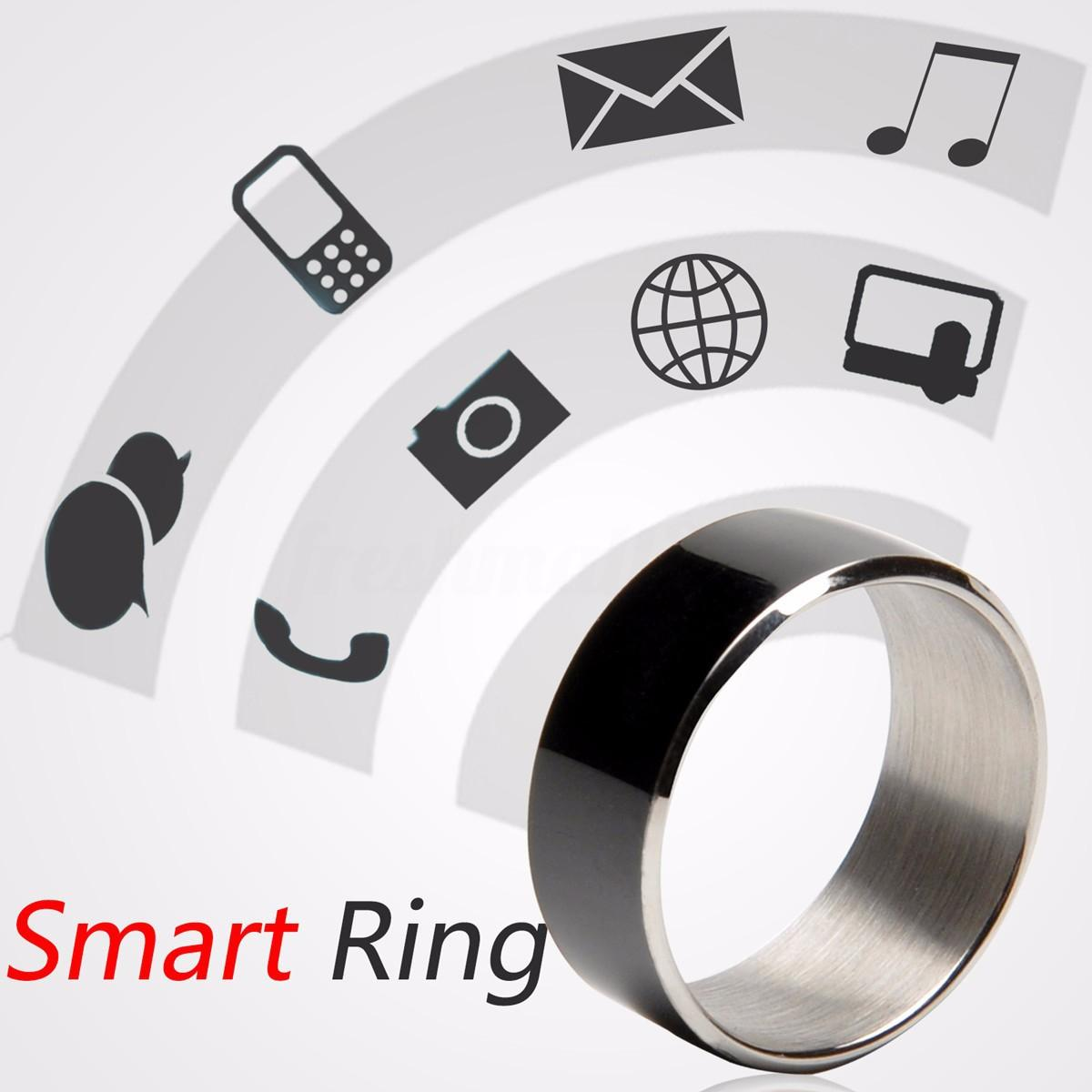JAKCOM R3F Black NFC Magic Wearable Smart Ring For Android iPhone