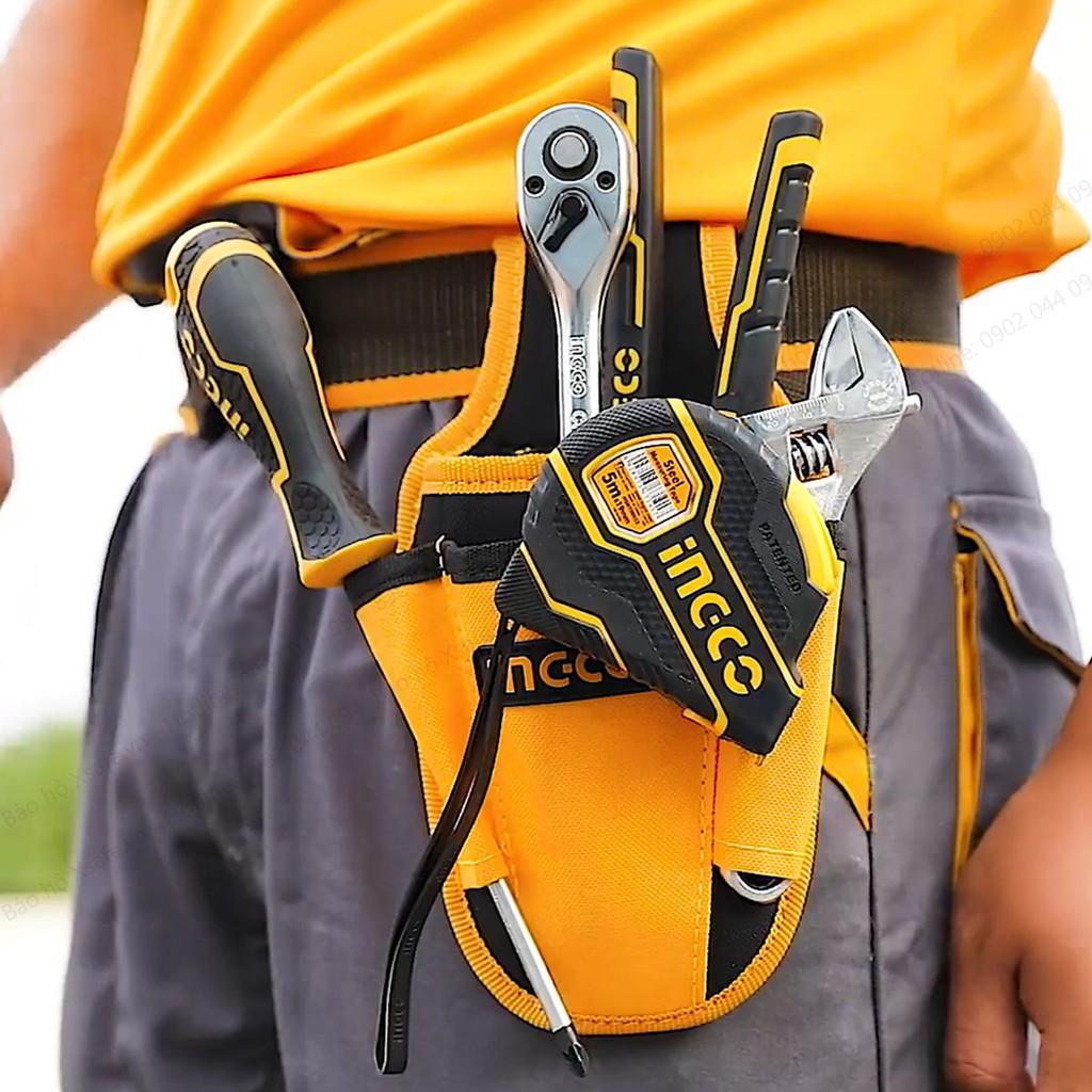 Ingco Waist Tool Bag with 4 Pockets