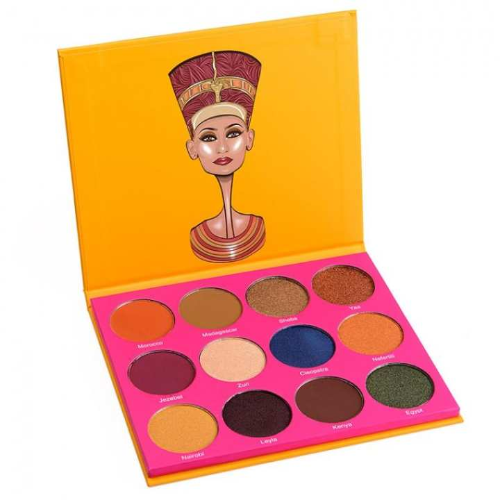 Juvia's Place The Nubian 12 Colors Eye Shadow Palette