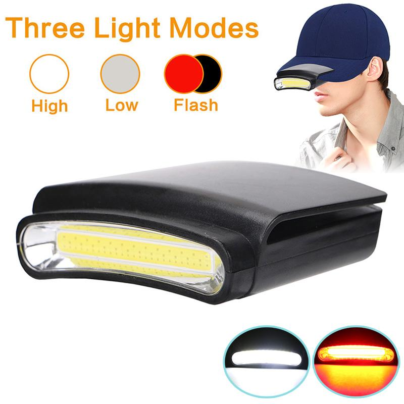 c21f33241 Cap Hat Light LED Headlamp Rotatable Ball Cap Visor Hands Free for Hunting  Camping Fishing