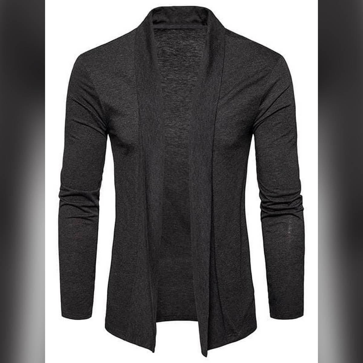 Oxygen Clothing Black Cardigan for Men