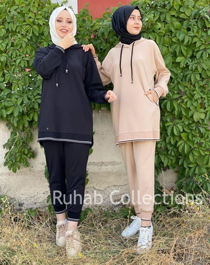 Full Sleeve Pullover Winter Track Suit For Women