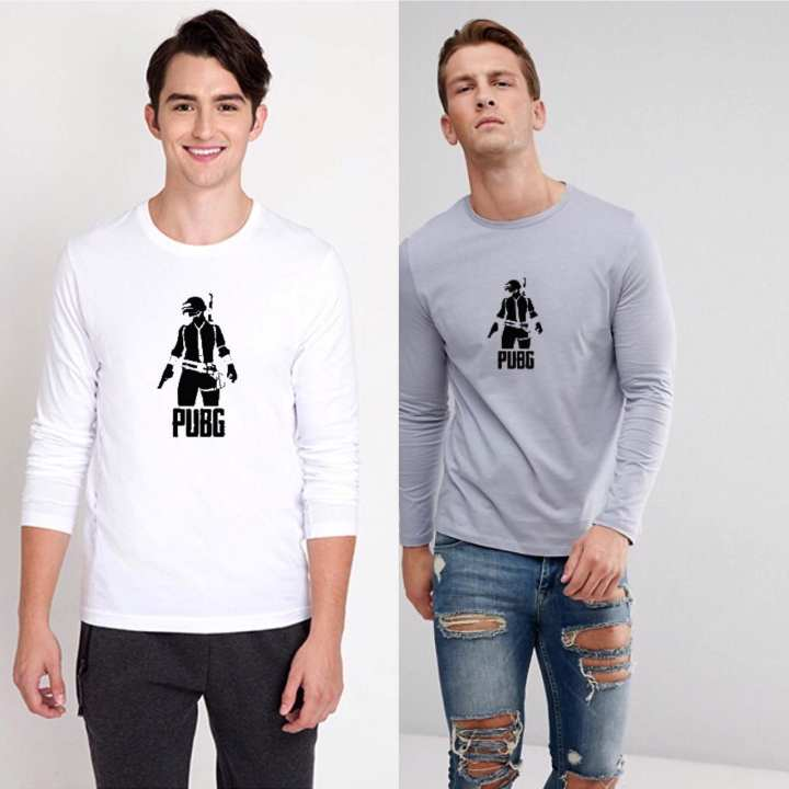 PUBG Pack Of 2 -Printed Cotton Full sleeves T-Shirts PFRT-02-019
