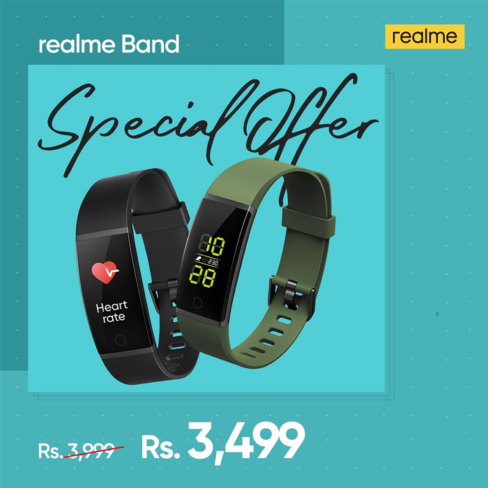 Realme Band Smart Fitness Tracker Live Fit Live Smart - 1 Year Official Brand Warranty