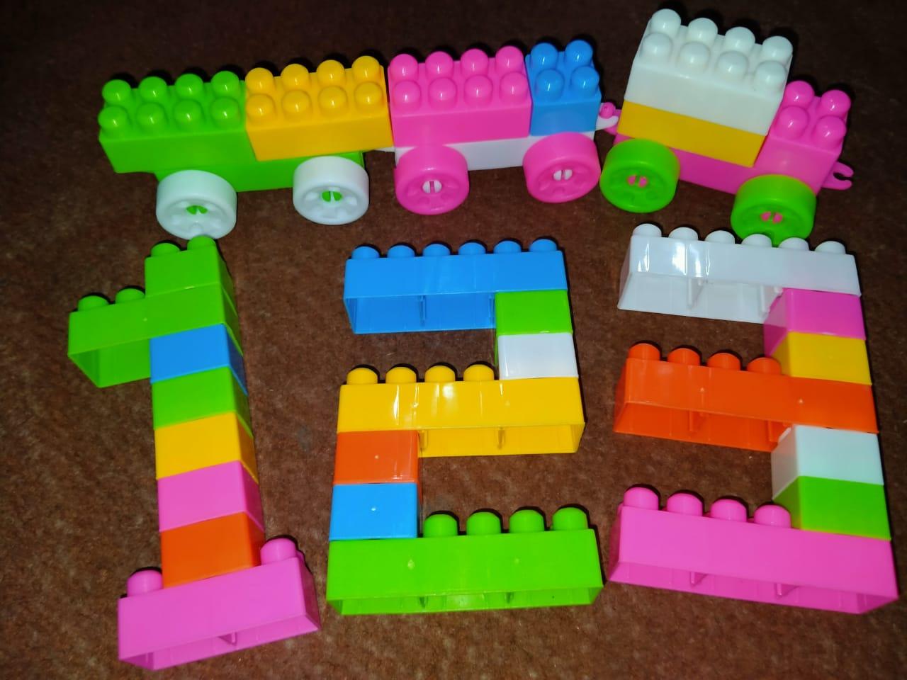 Building Blocks Set for Kids Imported Hi Quality Educational toy set Original Set 51 Pieces