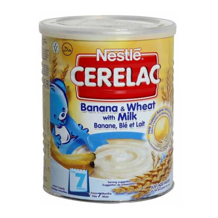 Banana And Wheat With Milk Baby Cereal