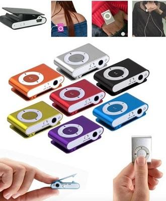 Colorful Mini MP3 Player Support 32GB Micro SD Card For Android And  Bluetooth Speaker