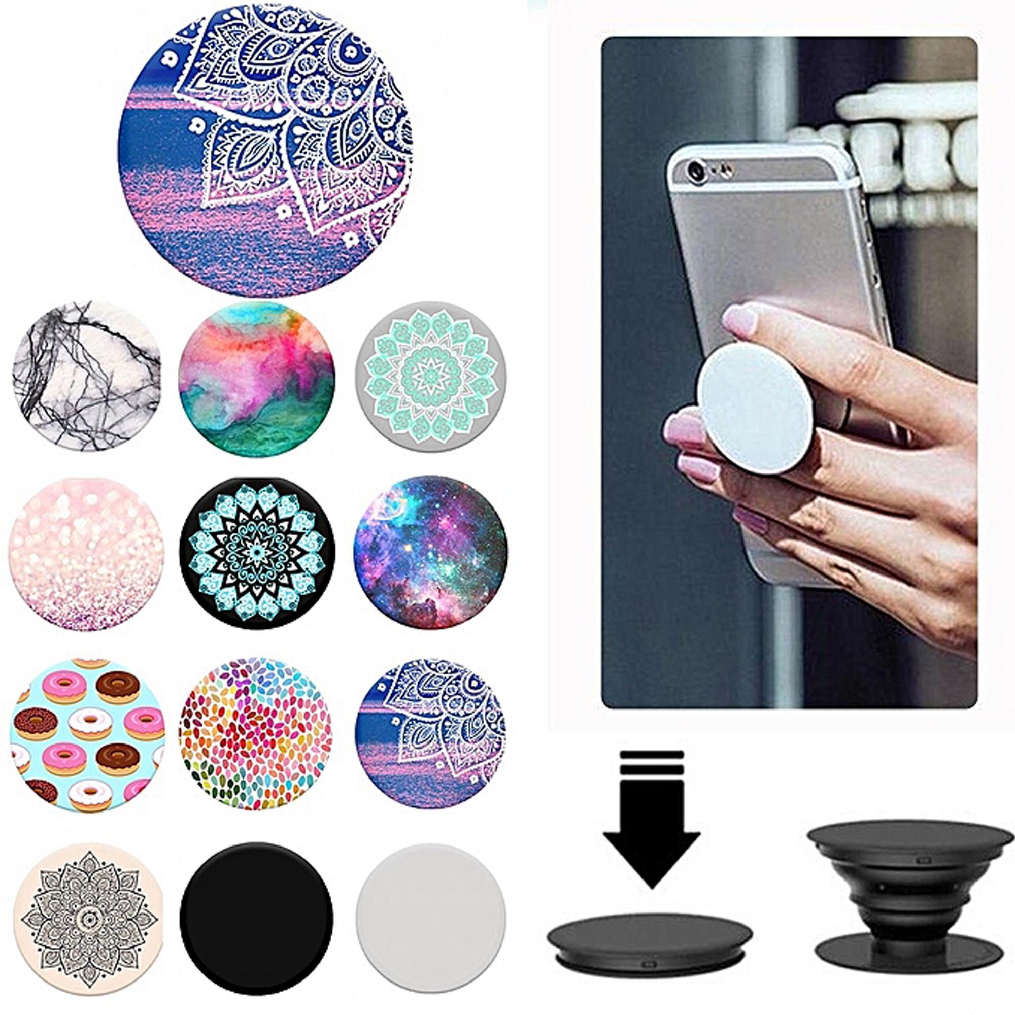 Pop Socket Random Shapes Designs For All Mobile Phones & Tablets 1Pc