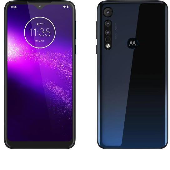 Motorola One Macro 6.2 Inch 4 GB RAM 64 GB ROM Dual Sim Space Blue 1 Year Warranty