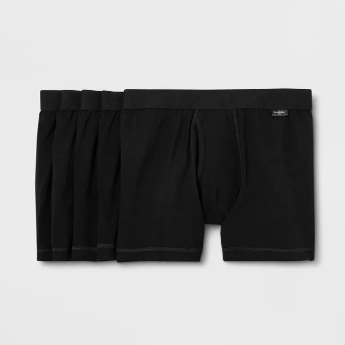 Export Quality Goodfellow (100% Cotton Soft Boxer Underwear) Guaranteed Premium Quality
