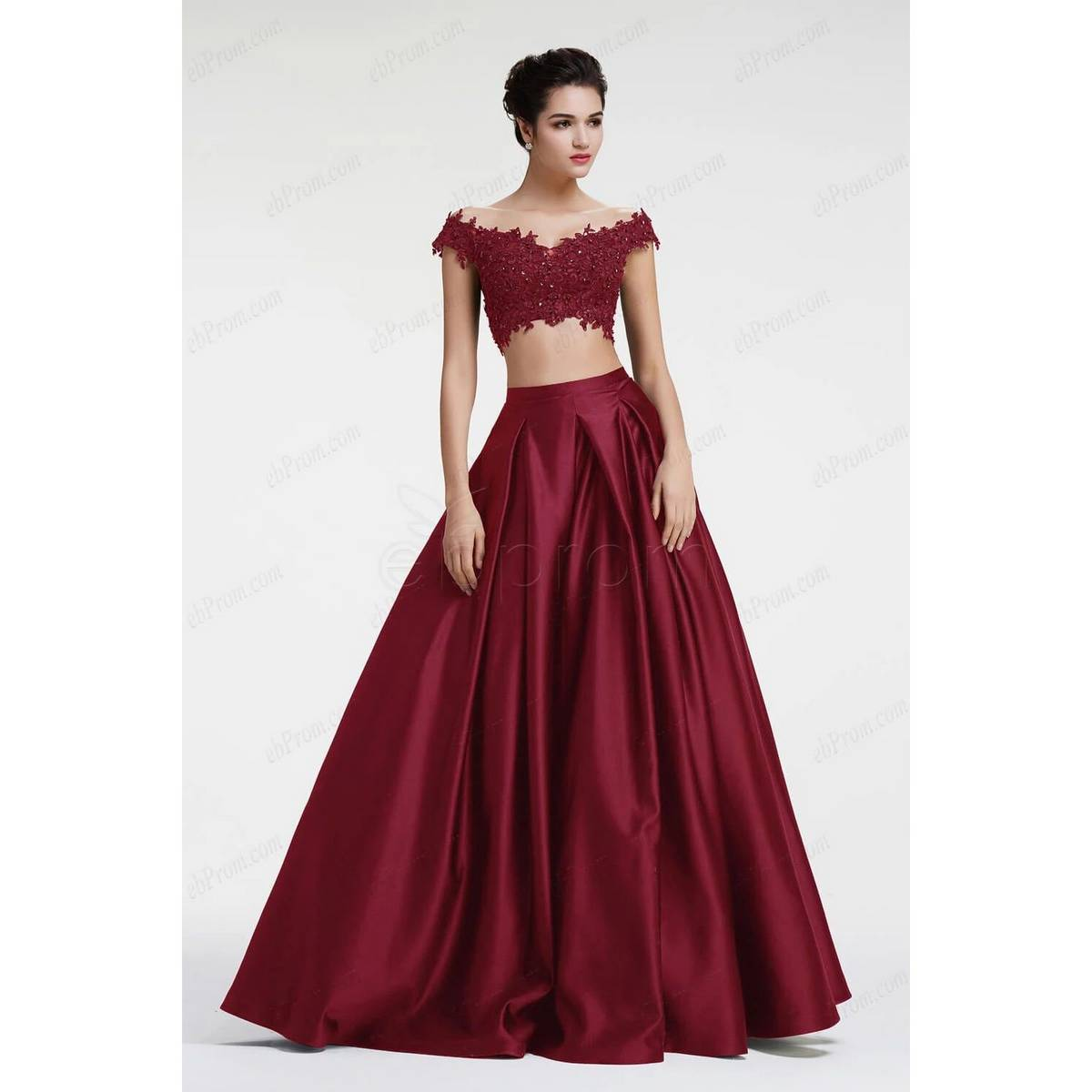 Korea Satin Silk Box Pleated Long Skirt, Skirts for women ladies with inner cancan stiched.