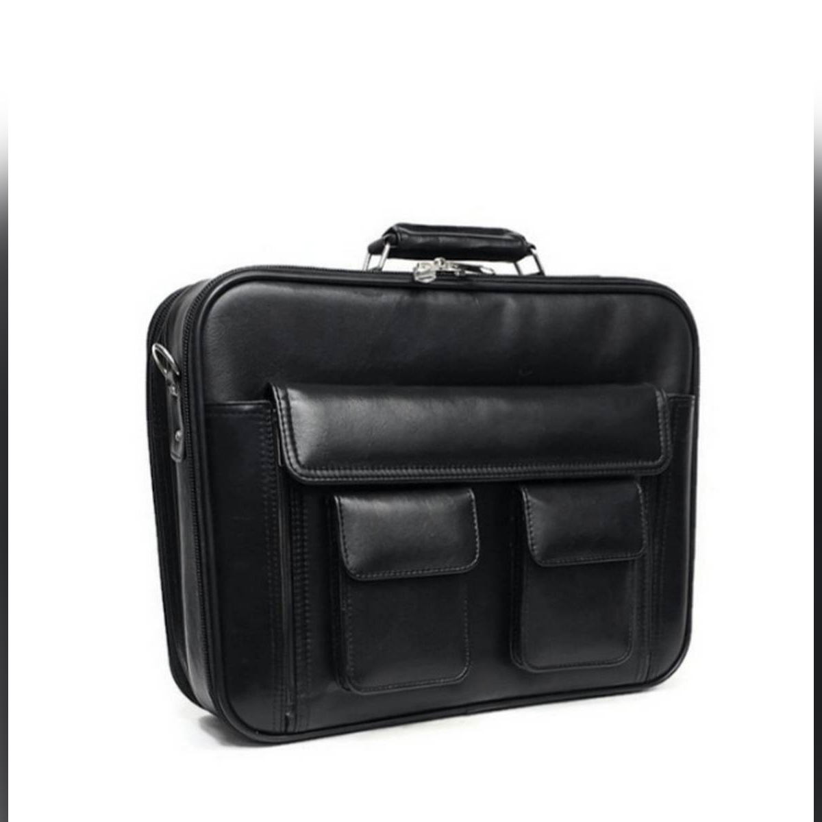 Stylish leather briefcase bags for men Business Bag Laptop and File Bag Office Tour
