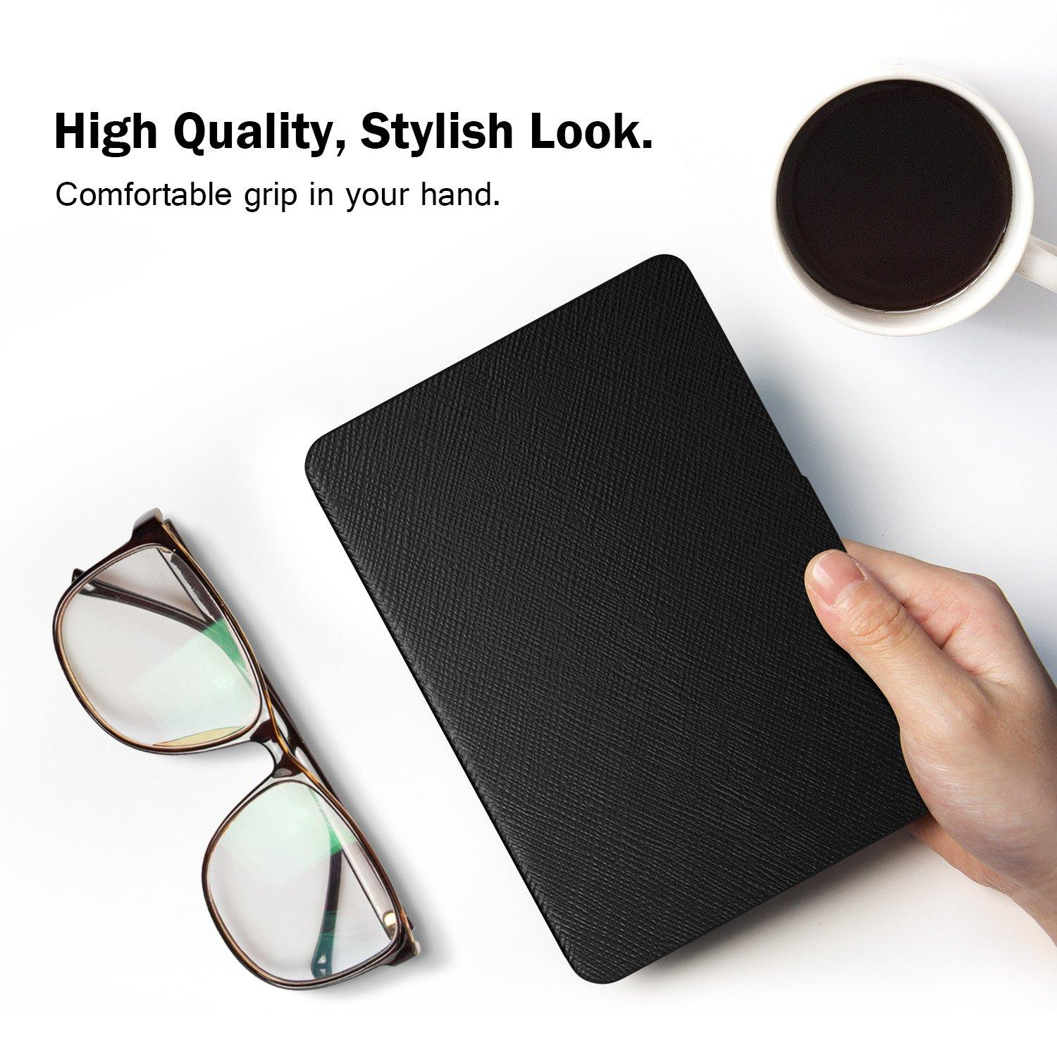 Amazon kindle paperwhite case, Light and Thin Protective PU Leather Cover  with Auto Wake/Sleep for Amazon Kindle Paperwhite