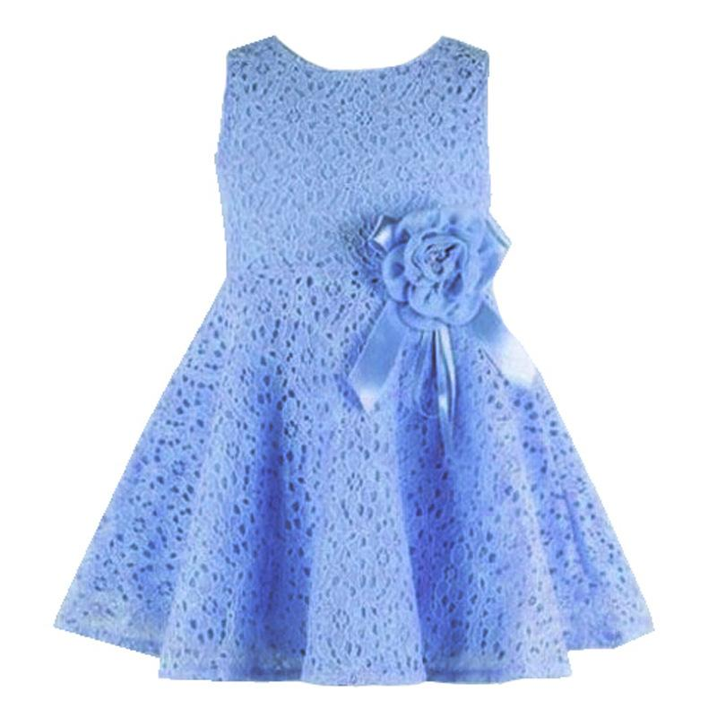 2a8462f49e Children S Clothing Spring And Summer New Sleeveless Lace Girl Dress 13  Colors Optional Baby Girl Clothes